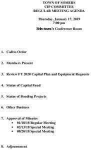 Icon of 20190117 CIP Agenda