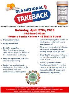 Icon of SCT Prescription Take Back Event Flyer