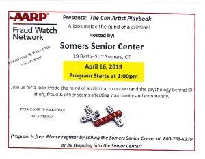 Icon of Sr Ctr AARP Fraud Watch